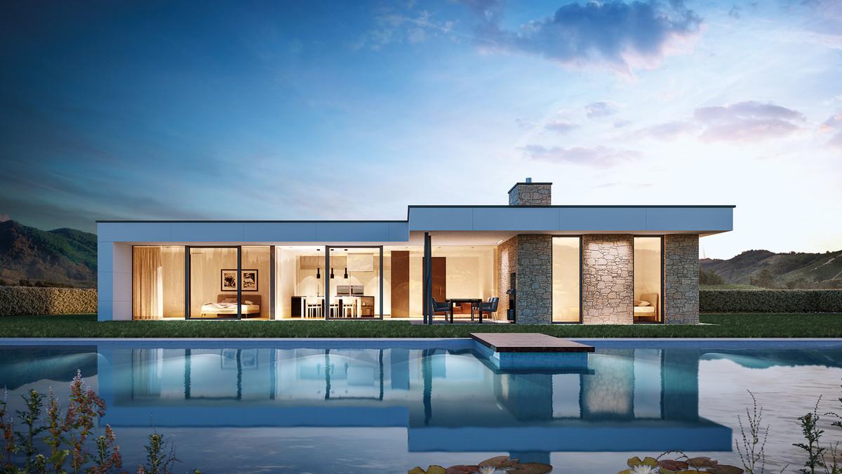 Le case intermedia snc a ferrara casa for Case moderne industriali in vendita