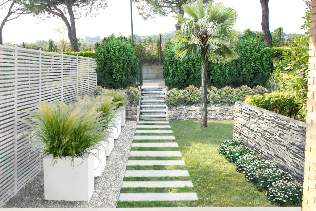 Podere vendita ferrara quacchio rif int026 le for Foto giardini moderni