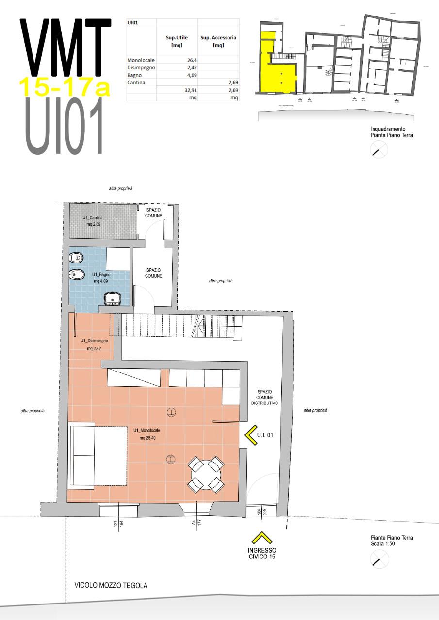 Monolocale in vendita Ferrara Zona Centro Storico